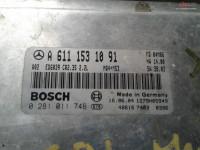 Calculator Ecu Mercedes Sprinter 2 2cdi Euro 3 A6111531091 cod A 611 153 10 91 Piese auto în Craiova, Dolj Dezmembrari