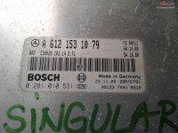 Calculator Ecu Mercedes C Class W203 C270 2 2cdi A6121531079 cod A 612 153 10 79 Piese auto în Craiova, Dolj Dezmembrari