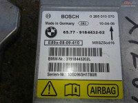 Calculator Airbag Bmw Seria 3 E90 E91 E92 9184432 0285010070 Piese auto în Craiova, Dolj Dezmembrari