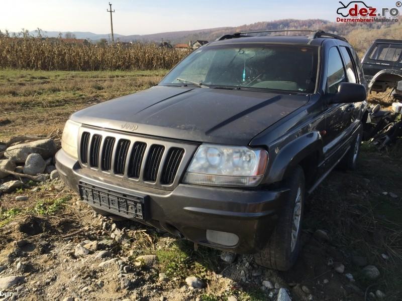 Dezmembrez Jeep Grand Cherokee 4 7 Benzina  Dezmembrări auto în Curtea de Arges, Arges Dezmembrari