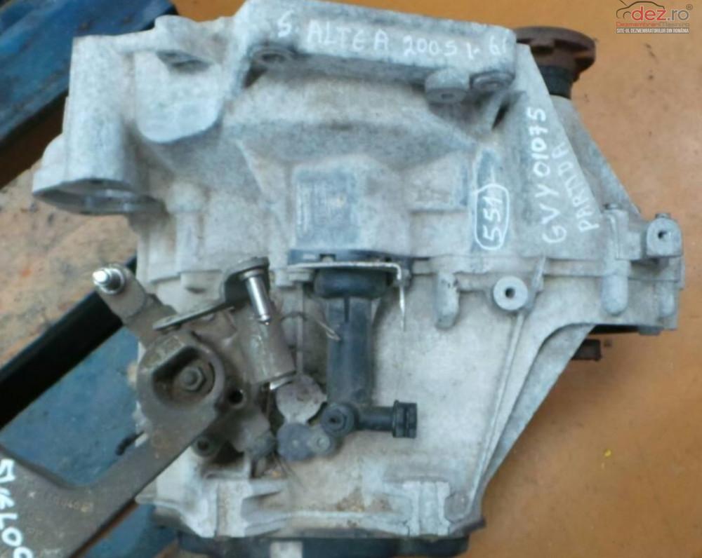 Cutie De Viteze Manuala Seat Toledo 1 6 Gvy 2004 2010  Piese auto în Cluj-Napoca, Cluj Dezmembrari