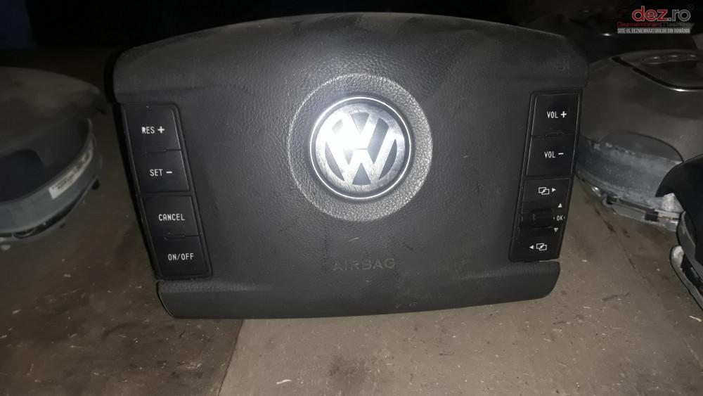 Airbag Volan Sofer Vw Touareg Cu Comenzi Piese auto în Craiova, Dolj Dezmembrari