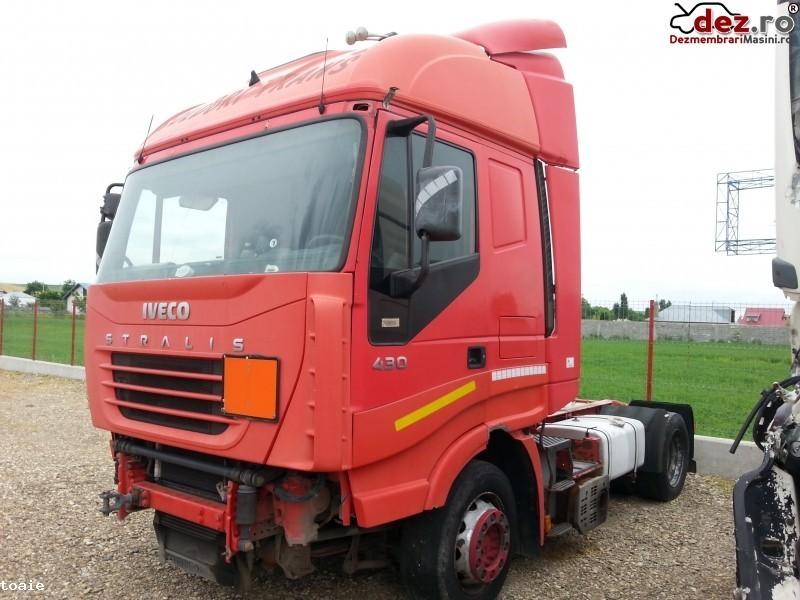 Dezmembrez Iveco Stralis 430 cp Automat si Manual  Dezmembrări camioane în Tecuci, Galati Dezmembrari