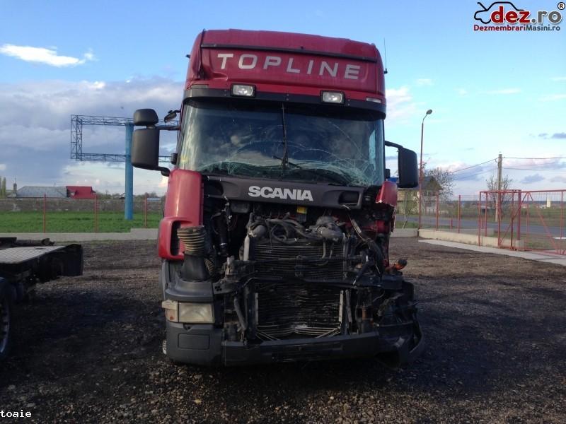 Dezmembrez Scania Topline l420 2004 Dezmembrări camioane în Tecuci, Galati Dezmembrari