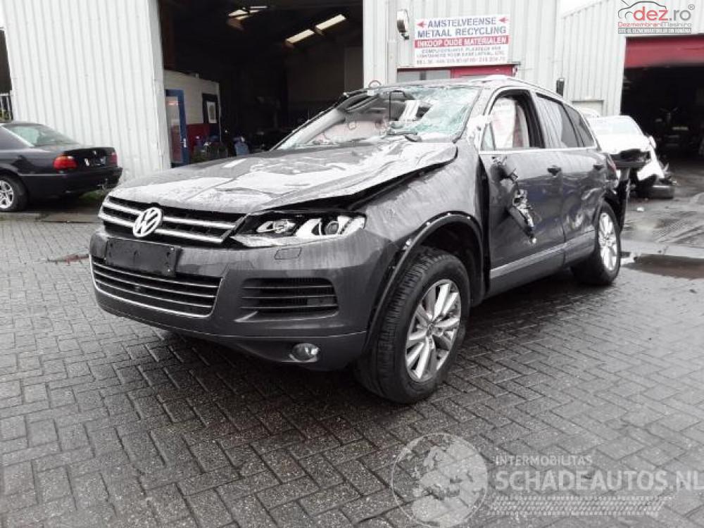 Cumpar Volkswagen Touareg din 2017, avariat in fata, spate, lateral(e), totalitate Mașini avariate în Bucuresti, Bucuresti Dezmembrari