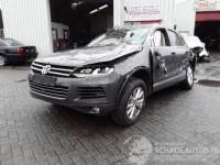 Cumpar Volkswagen Touareg din 2017, avariat in fata, lateral(e), totalitate Mașini avariate în Bucuresti, Bucuresti Dezmembrari