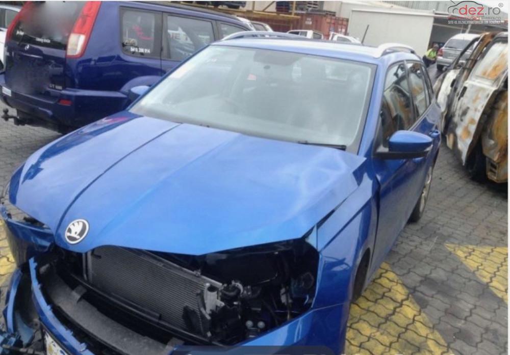 Cumpar Skoda Fabia din 2014, avariat in fata, spate, lateral(e) Mașini avariate în Bucuresti, Bucuresti Dezmembrari