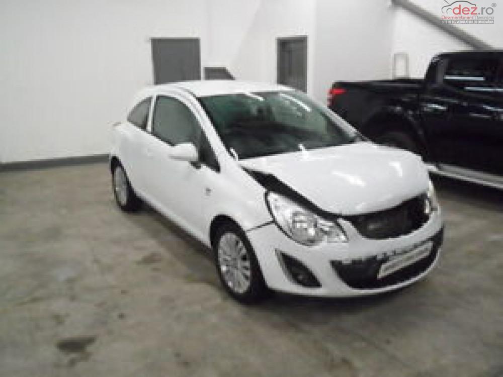 Cumpar Opel Corsa din 2013, avariat in fata, spate, lateral(e) Mașini avariate în Bucuresti, Bucuresti Dezmembrari