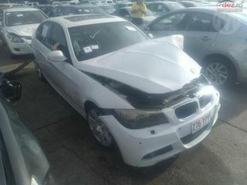 Cumpar BMW Seria 3 e92 din 2009, avariat in fata, spate, lateral(e) Mașini avariate în Bucuresti, Bucuresti Dezmembrari