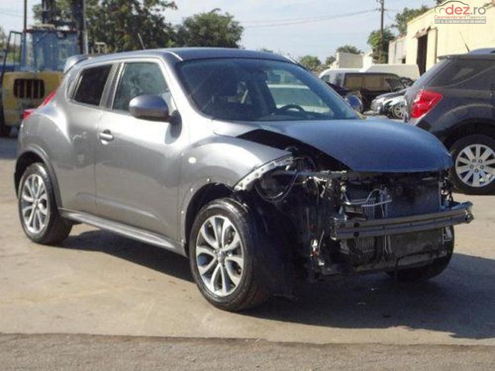 Cumpar Nissan Juke din 2014, avariat in fata, spate, lateral(e) Mașini avariate în Bucuresti, Bucuresti Dezmembrari