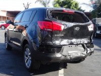 Cumpar Kia Sportage din 2014, avariat in fata, spate, lateral(e) Mașini avariate în Bucuresti, Bucuresti Dezmembrari