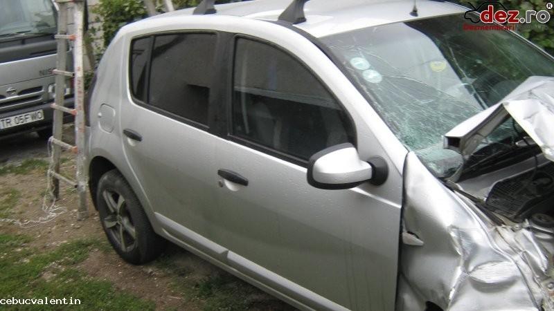 Dezmembrez dacia sandero 1 4 mpi 2010   caseta servodirectie   cadru motor   motor  Dezmembrări auto în Bucuresti, Bucuresti Dezmembrari