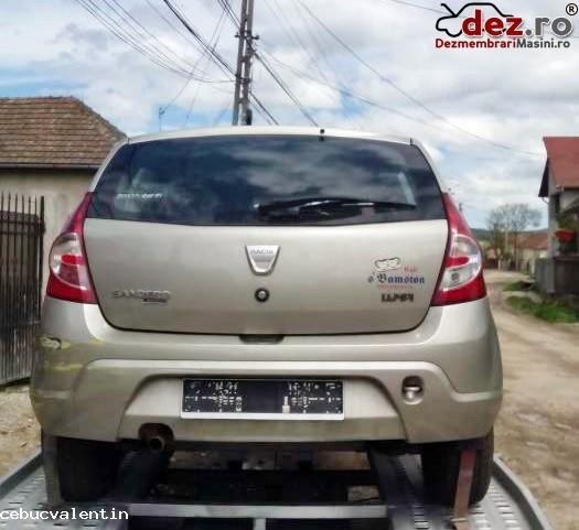 Dezmembez Dacia Sandero 1  5dci An 2010 Motor   Cutie De Viteze   C  Dezmembrări auto în Bucuresti, Bucuresti Dezmembrari