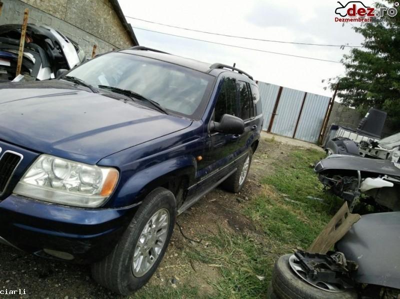 Dezmembrez Jeep Grand Cherokee 2 7 Cdi Din 2003  Dezmembrări auto în Craiova, Dolj Dezmembrari