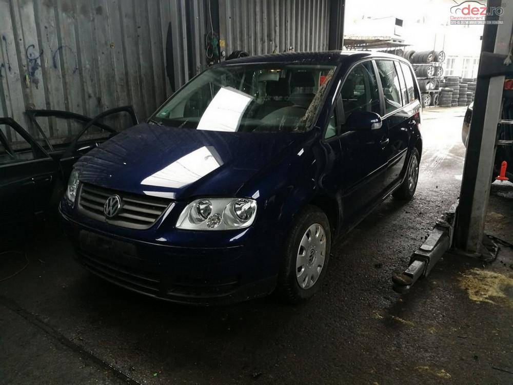 Dezmembrez Volkswagen Touran Motor 1 9tdi Tip Bkc Dezmembrări auto în Arad, Arad Dezmembrari