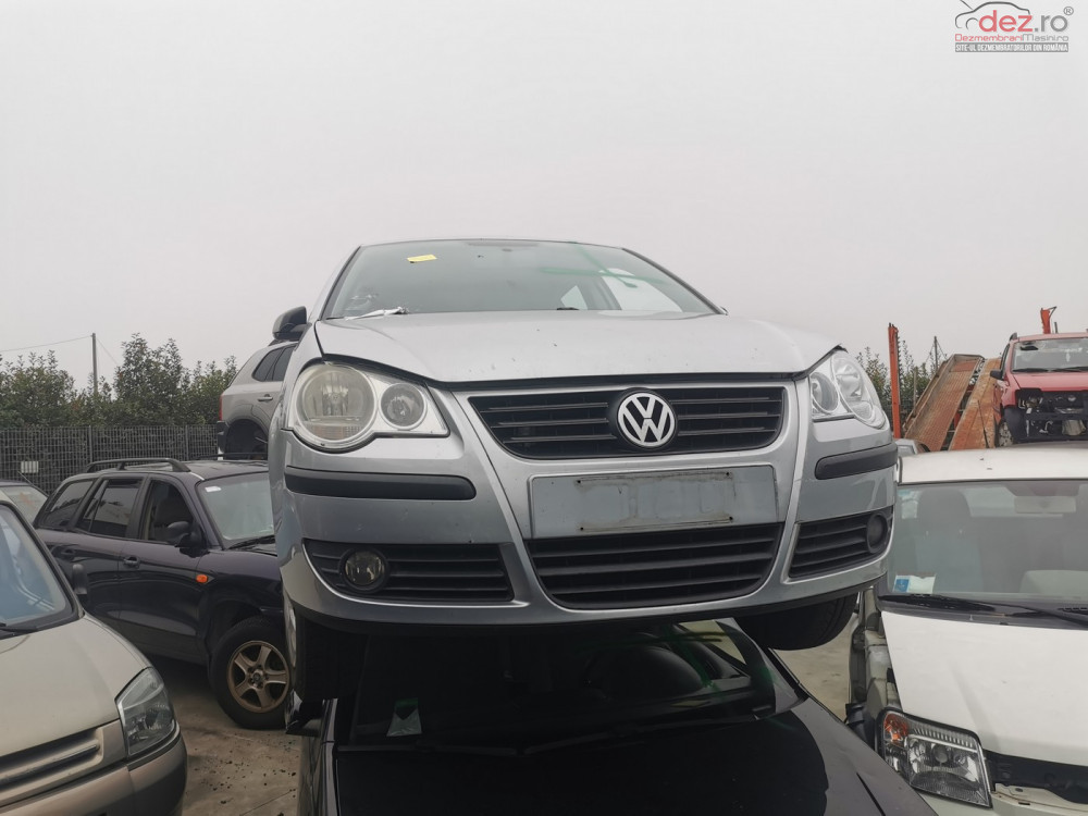 Dezmembrez Volkswagen Polo 9n Facelift 1 4tdi Tip Bnm Dezmembrări auto în Arad, Arad Dezmembrari