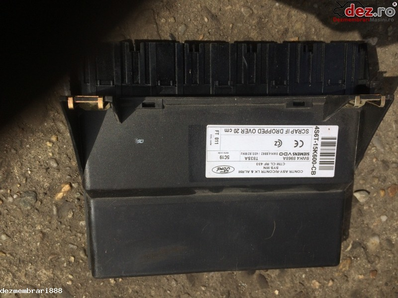 Calculator confort Ford Fiesta 2004 cod 4S6T-15K600-CB în Bucuresti, Bucuresti Dezmembrari