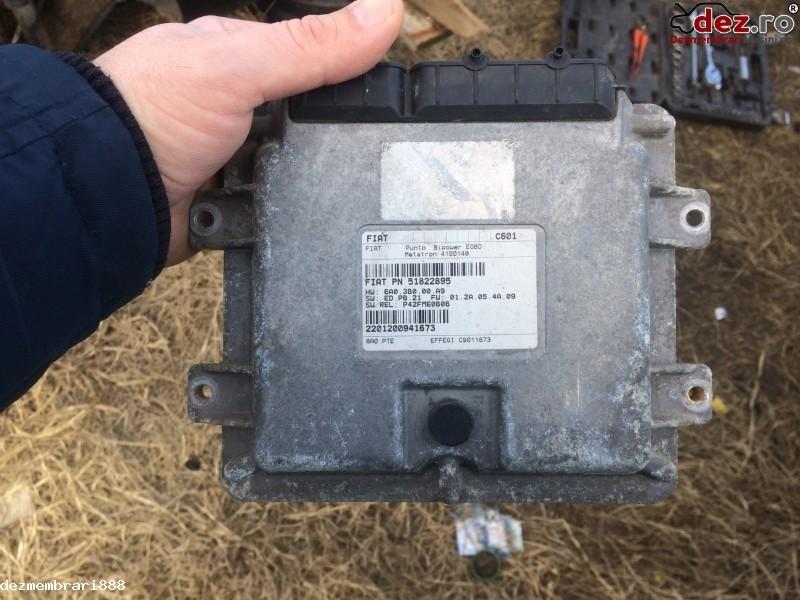 Calculator injectie aditiv Adblue Fiat Punto 2007 cod PN 51822895 în Bucuresti, Bucuresti Dezmembrari
