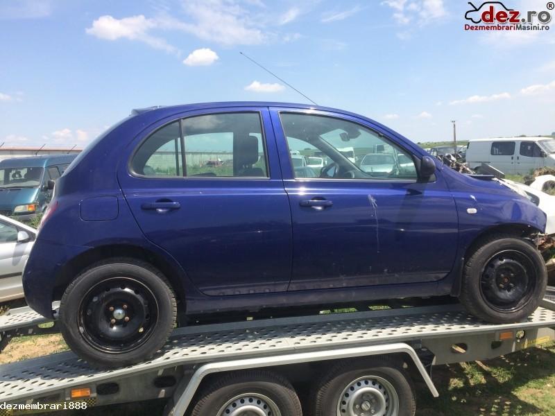 Dezmembrez Nissan Micra An 2004 Dezmembrări auto în Bucuresti, Bucuresti Dezmembrari