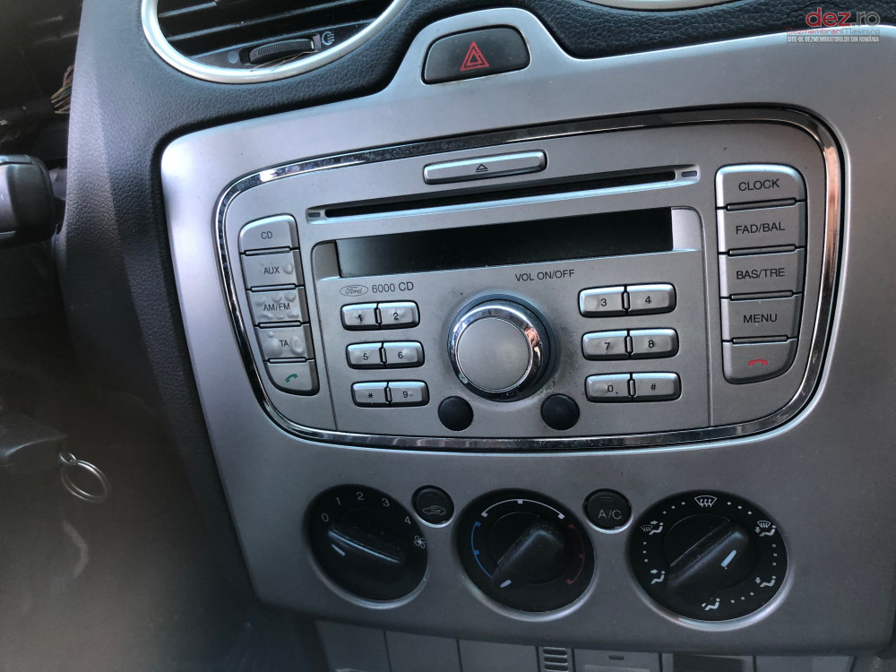 Radio Cd Ford Focus Mk 2 Facelift 6000 Cd în Bucuresti, Bucuresti Dezmembrari