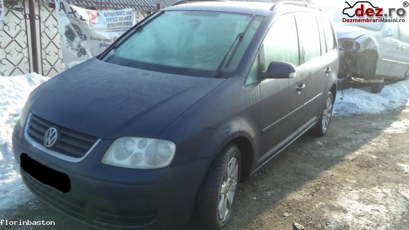 Dezmembrez Vw Touran 1  9 Bkc  Dezmembrări auto în Valea Seaca, Iasi Dezmembrari