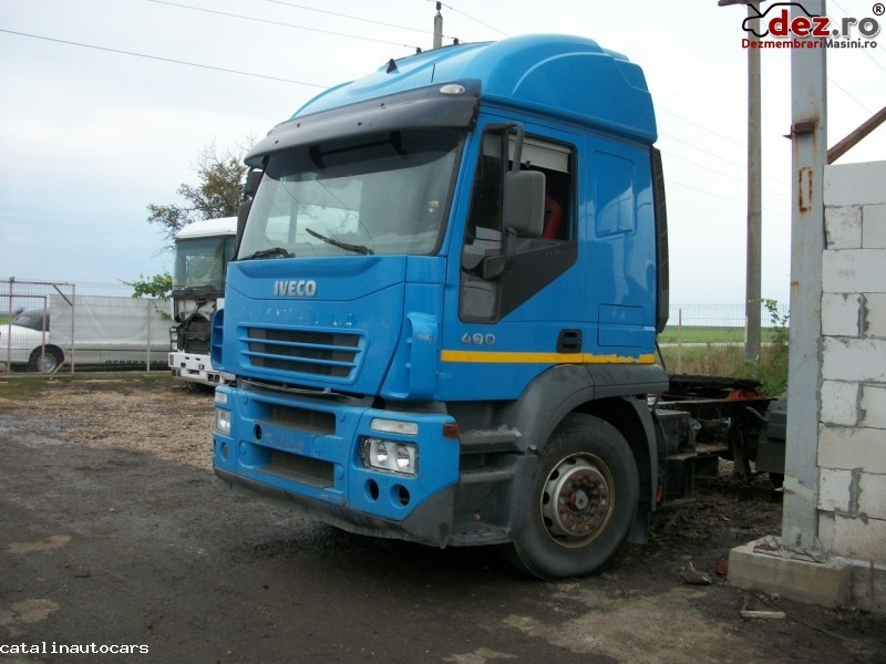 Dezmembram Iveco Stralis 400 an 2005 Dezmembrări camioane în Corabia, Olt Dezmembrari