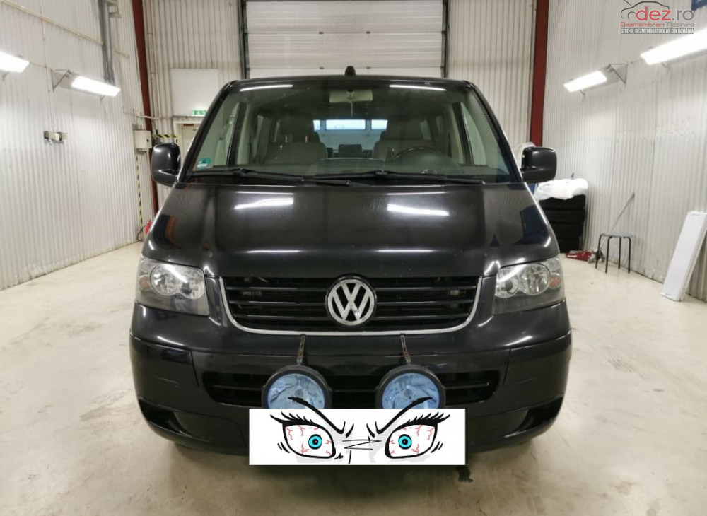 Dezmembram Volkswagen Transporter T5 2 5tdi 2461cmc 128kw/175hp Dezmembrări auto în Corabia, Olt Dezmembrari