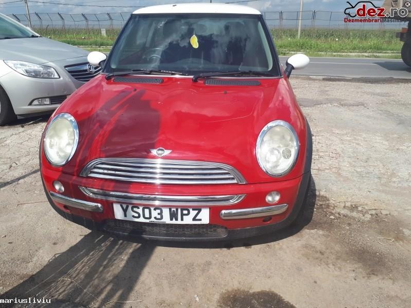 Dezmembrez Mini Cooper 1 6 Benzină An 2004 Dezmembrări auto în Bucuresti, Bucuresti Dezmembrari