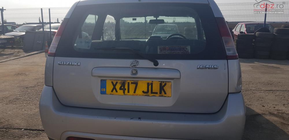 Dezmembrez Suzuki Ignis Din 2000 Motor 1 3 Benzina Dezmembrări auto în Belciugatele, Calarasi Dezmembrari