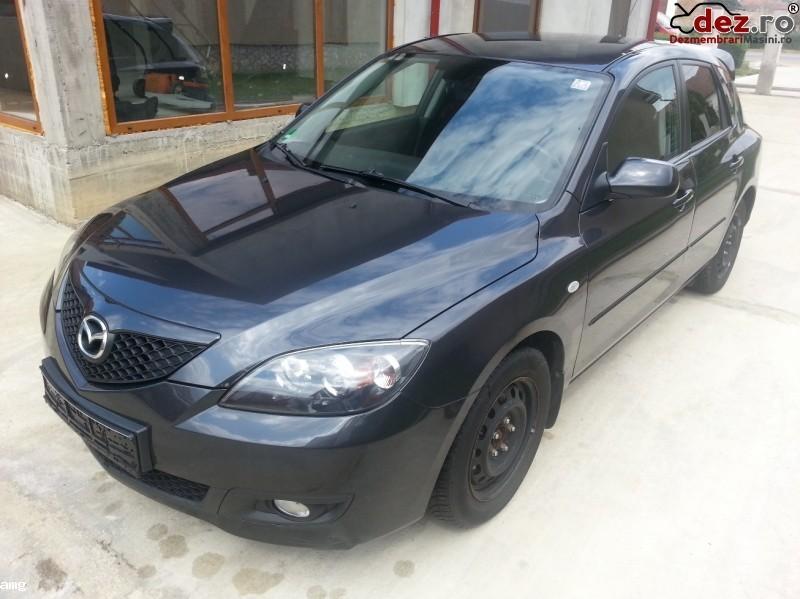 Dezmenbrez Mazda 3 1 6 Diesel 109 Cp Euro 4 An 2006  Dezmembrări auto în Timisoara, Timis Dezmembrari