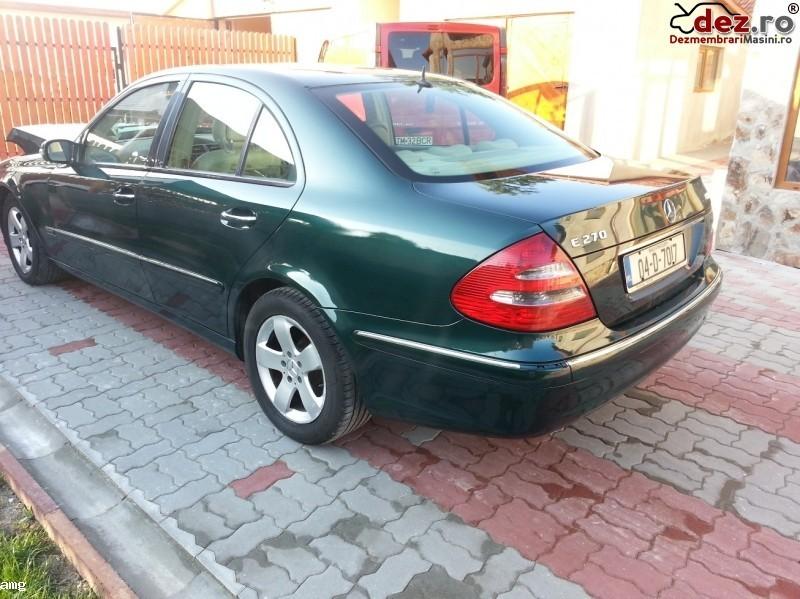 Dezmenbrez Mercedes Benz E 270 Cdi W 211 An 2004  Dezmembrări auto în Timisoara, Timis Dezmembrari