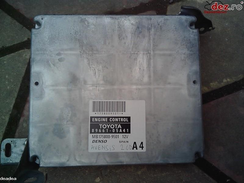 Calculator motor Toyota Avensis 2008 Piese auto în Ovidiu, Constanta Dezmembrari