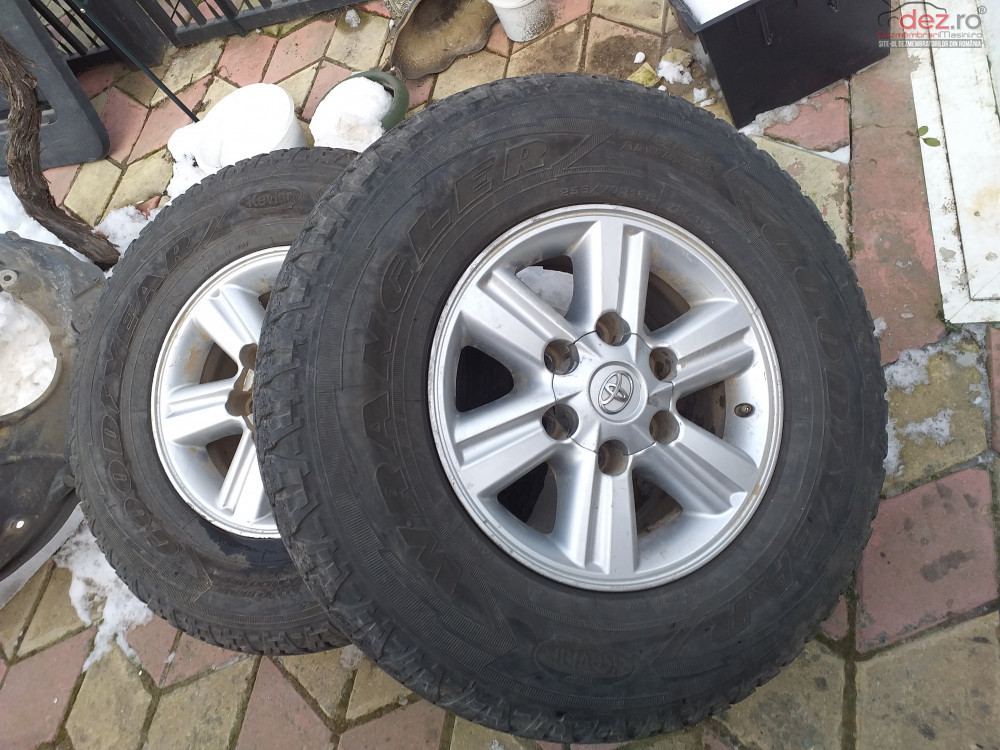 2 Jante /15 Toyota Hylux 2014 Piese auto în Ovidiu, Constanta Dezmembrari