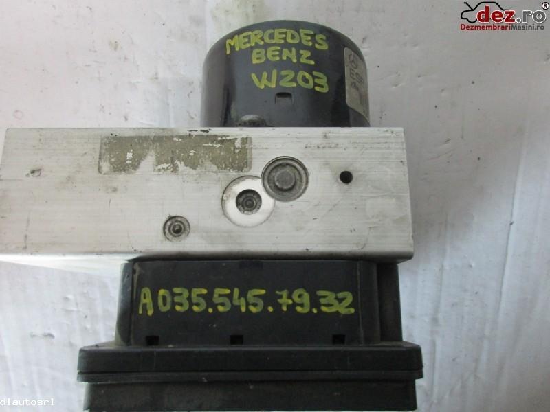 Calculator unitate abs Mercedes C 230 2005 cod A0355457932 Piese auto în Cosereni, Ialomita Dezmembrari