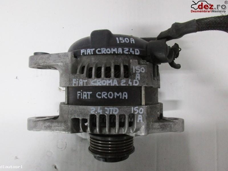 Alternator Fiat Croma 2008 cod 50500728 Piese auto în Cosereni, Ialomita Dezmembrari
