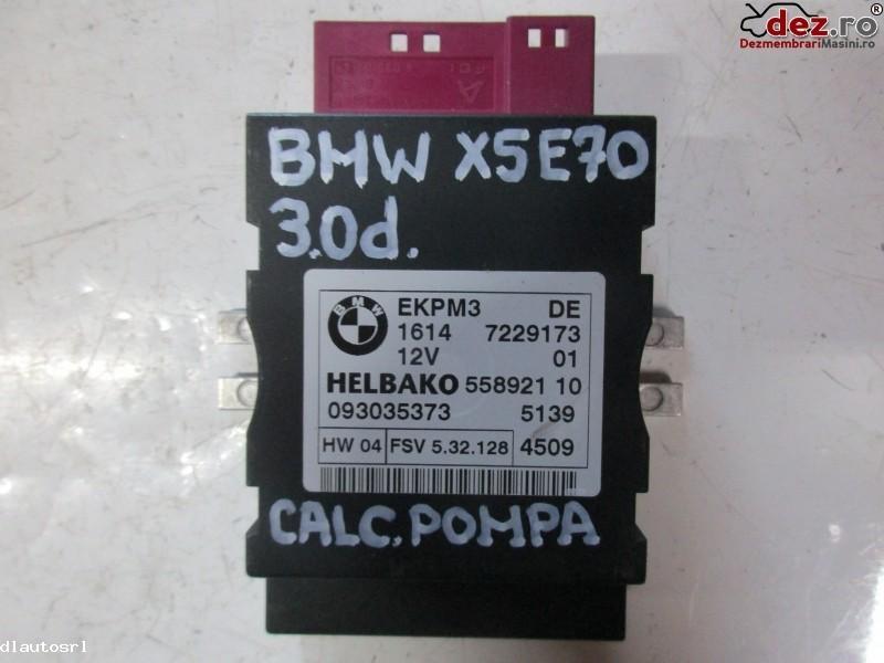 Calculator injectie aditiv Adblue BMW X5 2009 cod 1614-7229173  093035373  55892110 Piese auto în Cosereni, Ialomita Dezmembrari