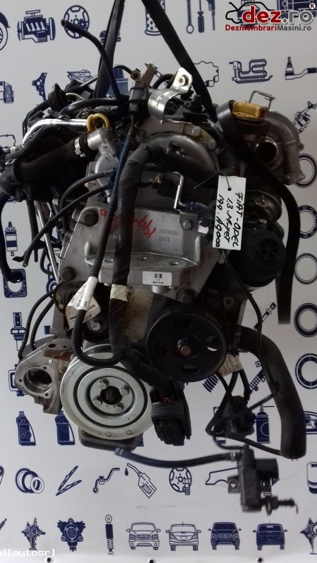 Motor fara subansamble Fiat Punto 2013 cod 199A9000 Piese auto în Cosereni, Ialomita Dezmembrari