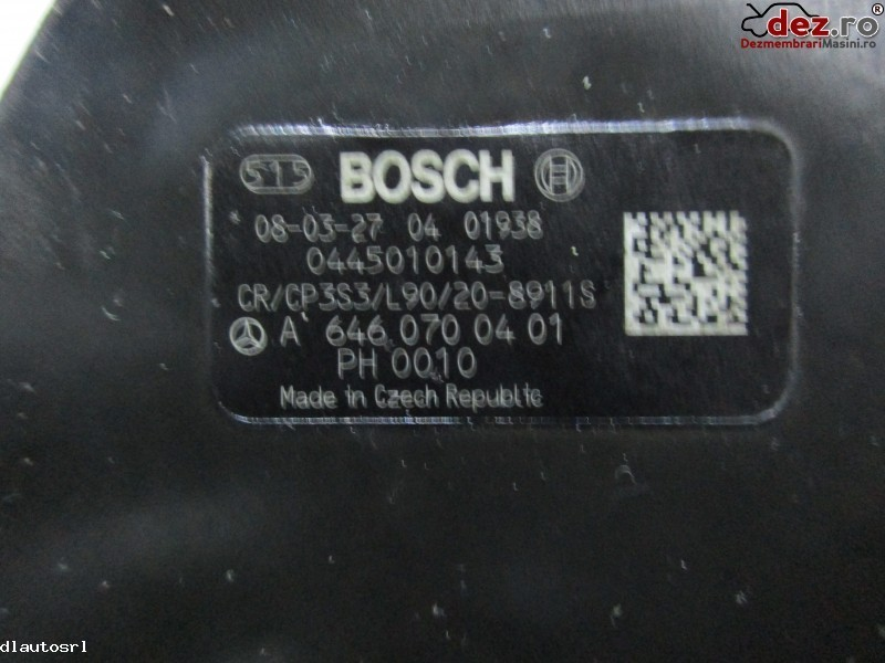 Pompa inalta presiune Mercedes Sprinter 2008