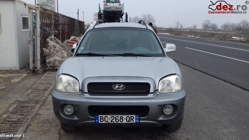 Dezmembrez Hyundai Santa Fe   2003 Argintiu  Dezmembrări auto în Cosereni, Ialomita Dezmembrari