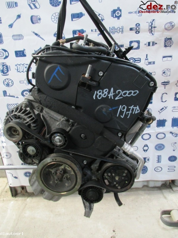 Motor fara subansamble Fiat Punto 2005 cod 188A2000 Piese auto în Cosereni, Ialomita Dezmembrari