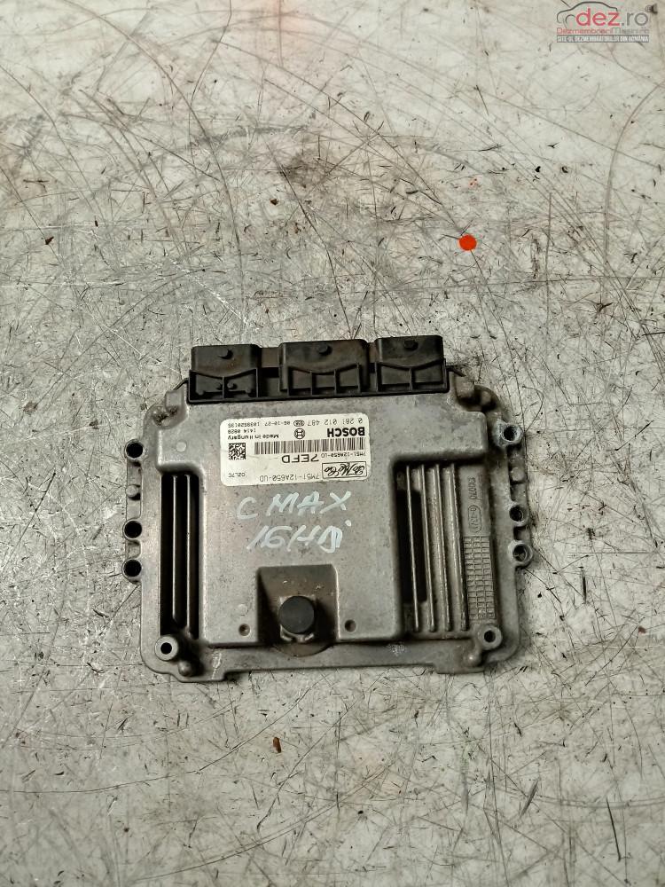 Calculator Motor Ford C Max 1 6hdi Cod   0281012487    7m51  12a650  Ud  cod 0281012487 , 7M51-12A650-UD Piese auto în Cosereni, Ialomita Dezmembrari