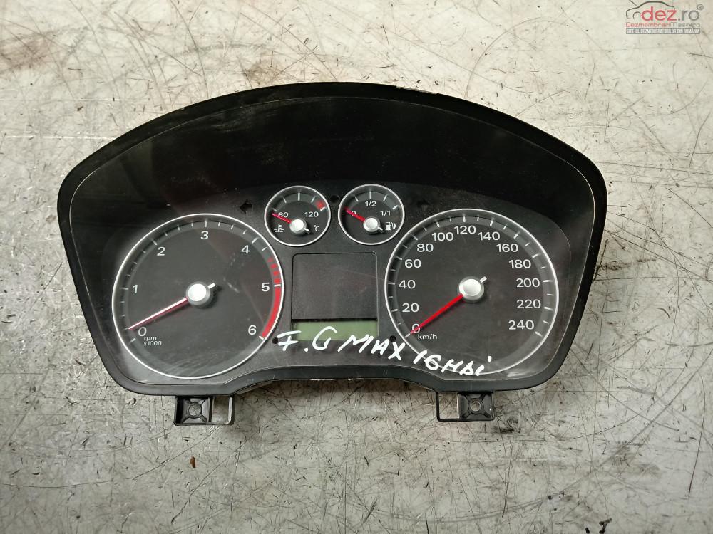 Ceas Bord Ford C Max 1 6hdi Cod   4m5t  10849  Gr  cod 4M5T-10849-GR Piese auto în Cosereni, Ialomita Dezmembrari