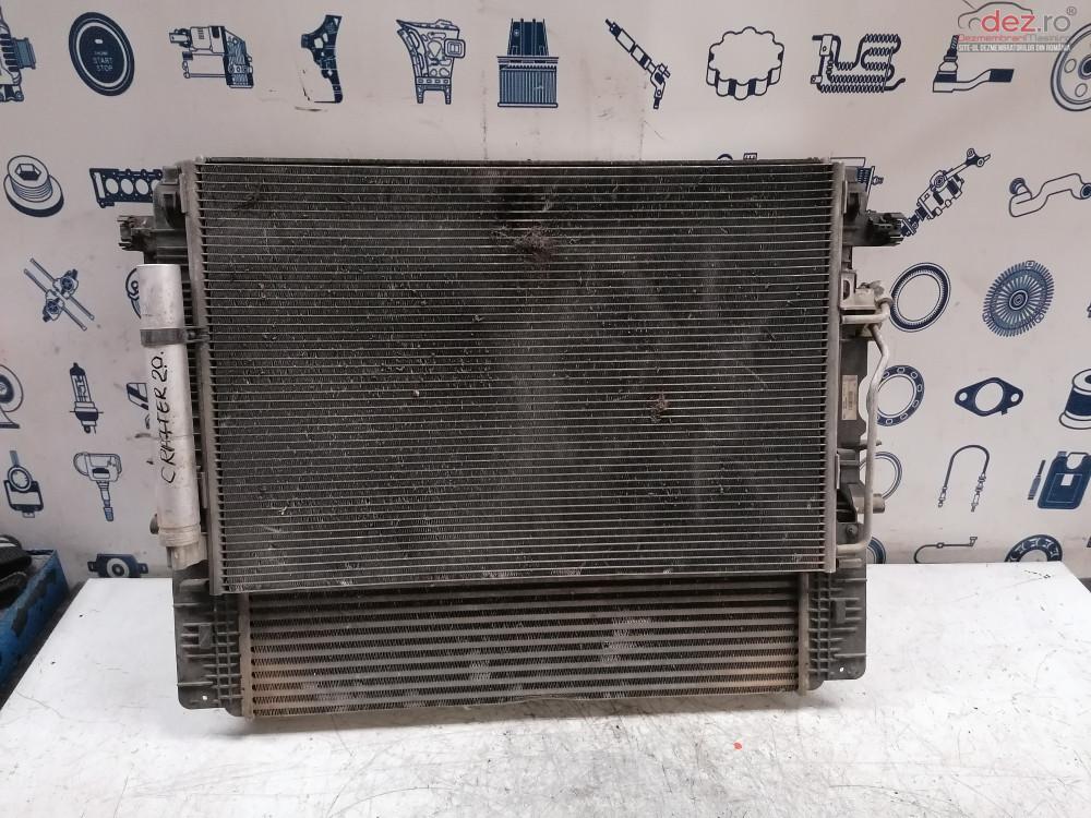 Radiator Apa Ac Si Intercooler Vw Crafter 2 0tdi Cod A9065000054 877124k Dezmembrări auto în Cosereni, Ialomita Dezmembrari