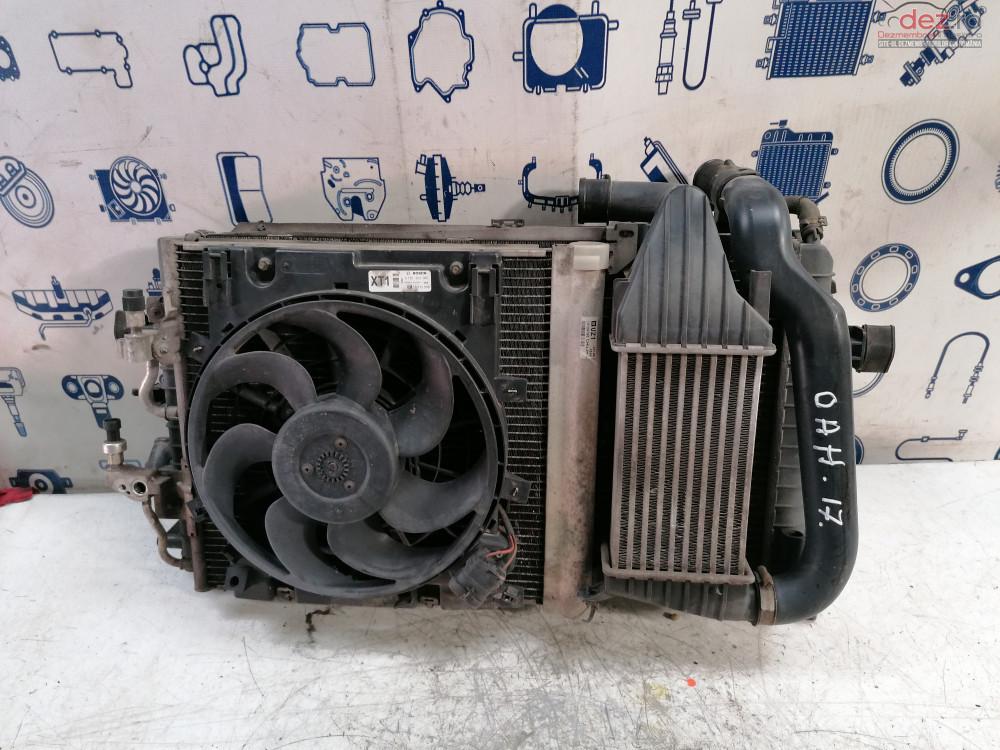 Radiator Apa   Ac   Intercooler Si Electroventilatoare Opel Astra H 1  7d Cod   Dezmembrări auto în Cosereni, Ialomita Dezmembrari