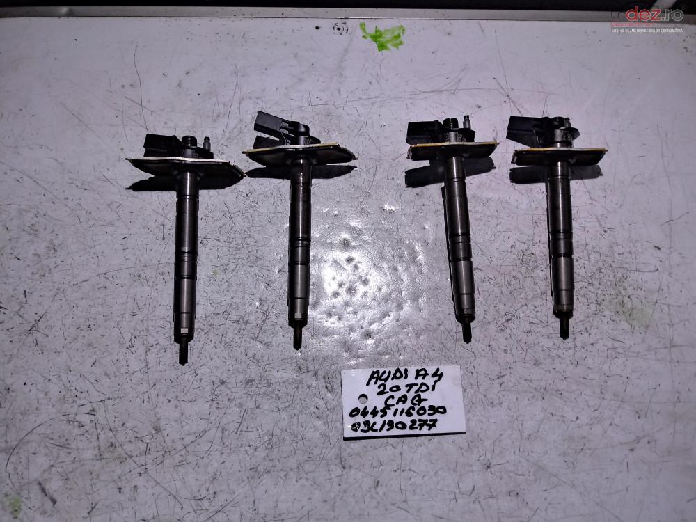 Injectoare Audi A4 2 0tdi Cag Cod   0445116030    03l130277  Piese auto în Cosereni, Ialomita Dezmembrari