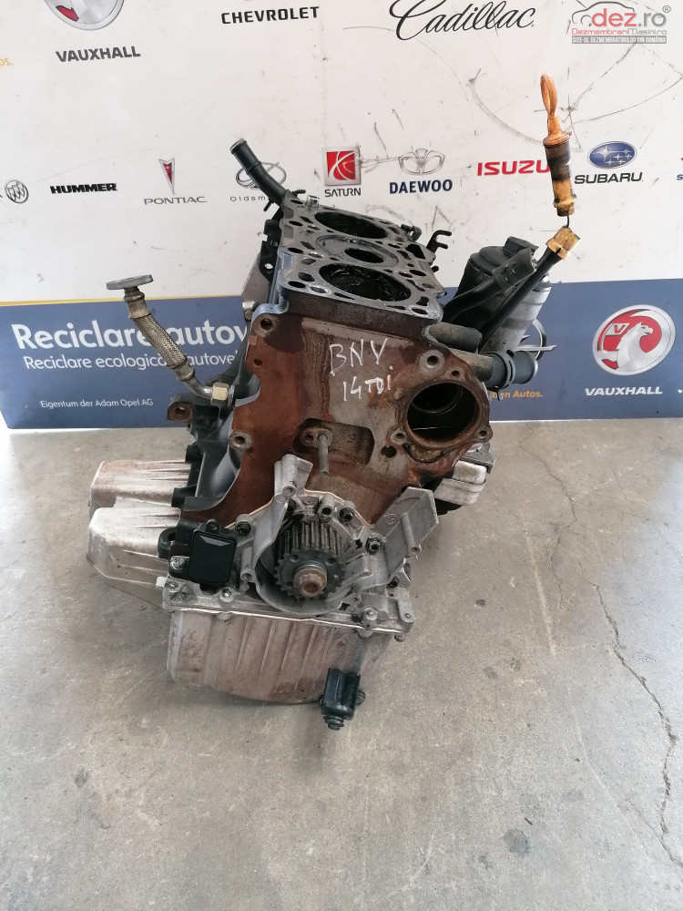 Bloc Motor Vw Polo 1 4tdi Tip   Bnv  Piese auto în Cosereni, Ialomita Dezmembrari