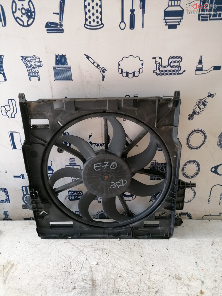 Electroventilator Bmw X5 E70 3 0d  cod 776-65690-23 , 7796572.06 , 6726010705 , 56057110 Piese auto în Cosereni, Ialomita Dezmembrari