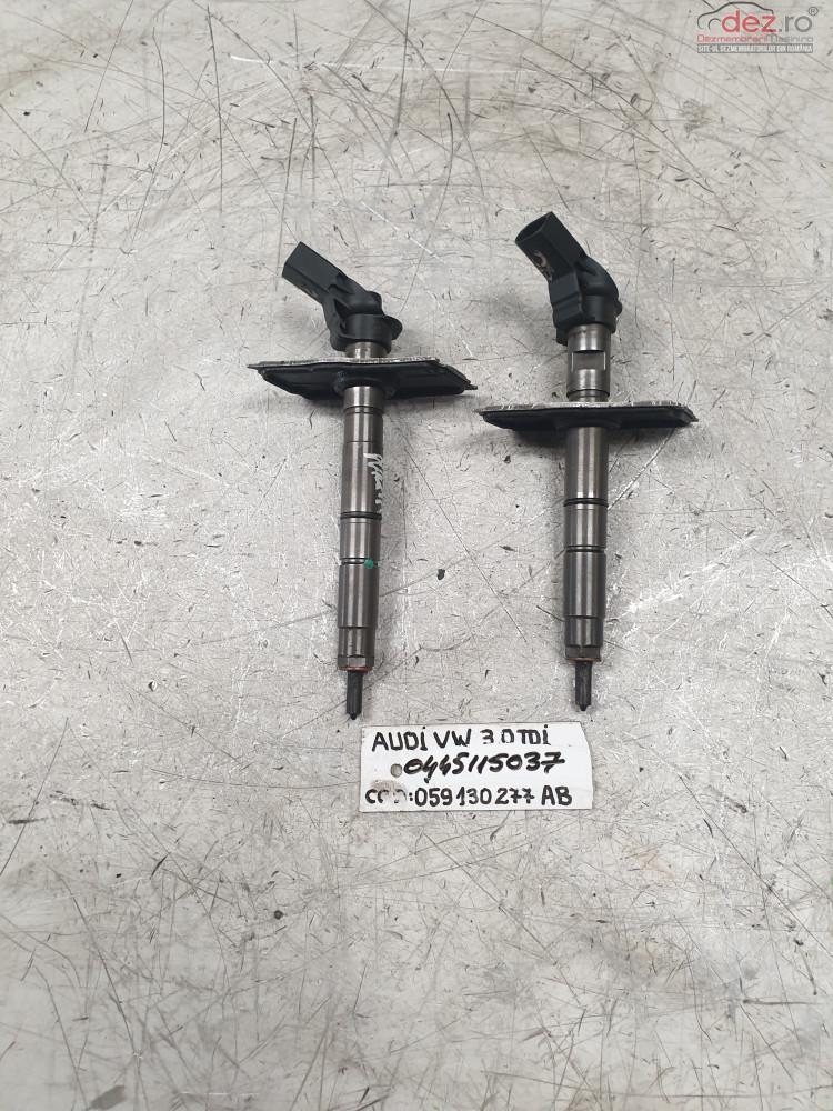 Injectoare Audi Q5 3 0tdi Cod 0445115037 059130277ab Piese auto în Cosereni, Ialomita Dezmembrari