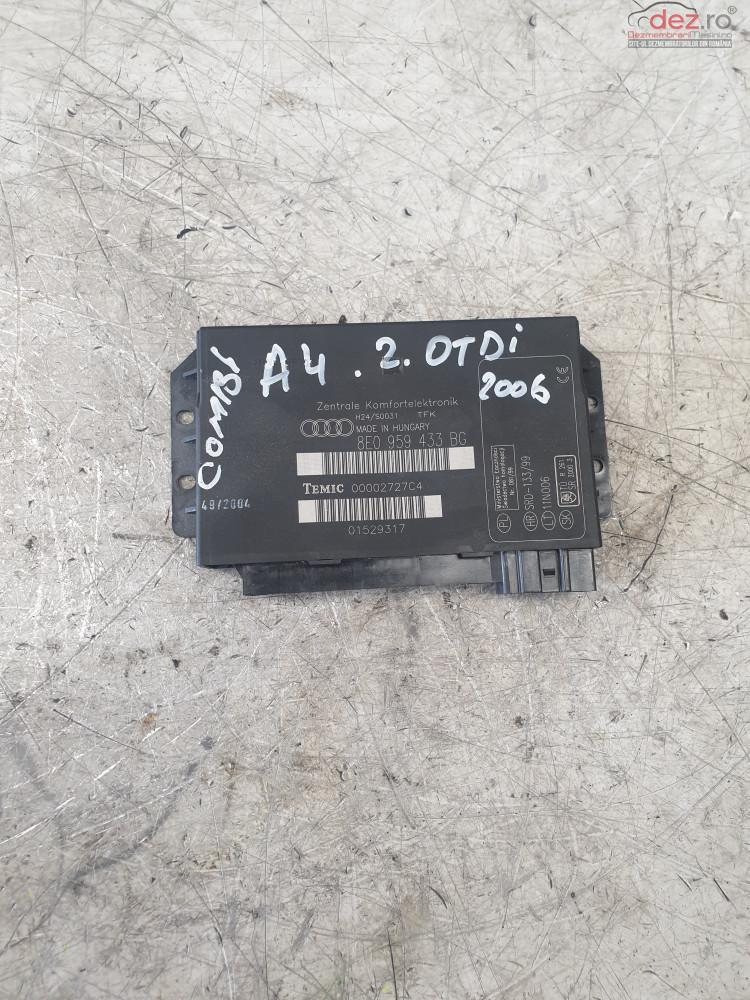 Calculator Confort Audi A4 2 0tdi Cod 8e0959433bg Piese auto în Cosereni, Ialomita Dezmembrari