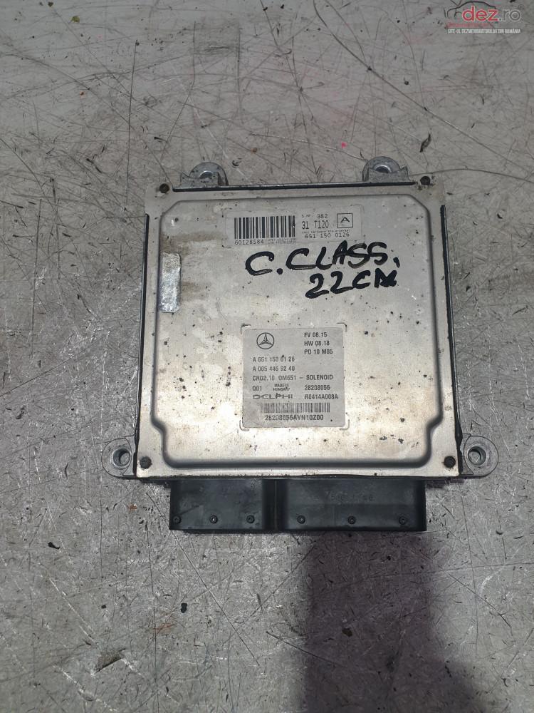 Calculator Motor Mercedes C Class C200 Cod A6511500126 A0054469240 Piese auto în Cosereni, Ialomita Dezmembrari